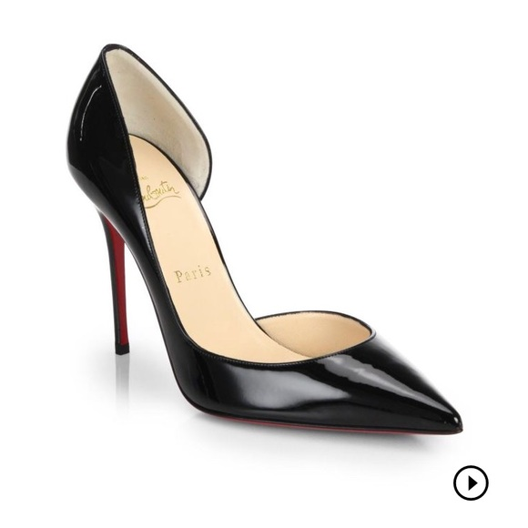 8fd69aca545 Christian Louboutin Shoes - Christian Louboutin Iriza Half-d  Orsay Pump ❤️